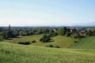 Gers or Gascony landscape